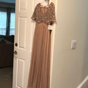 Size 8 maternity formal dress